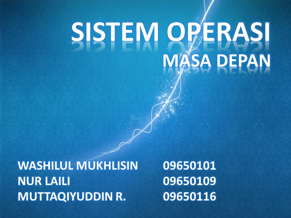 Kusumadewi, Sri.2002.Sistem Operasi.Yogyakarta : Graha Ilmu