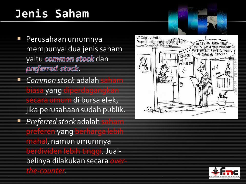 LOGO Jenis Saham