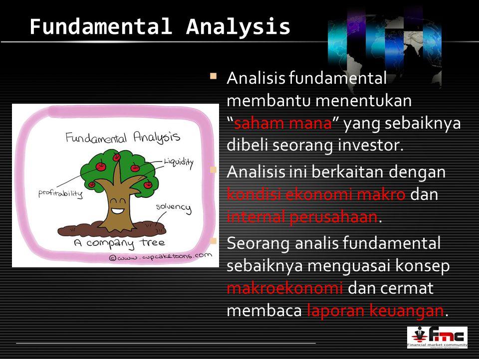 LOGO Fundamental Analysis  Analisis fundamental membantu menentukan saham mana yang sebaiknya dibeli seorang investor.