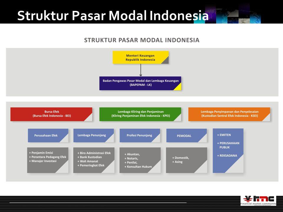 LOGO Struktur Pasar Modal Indonesia