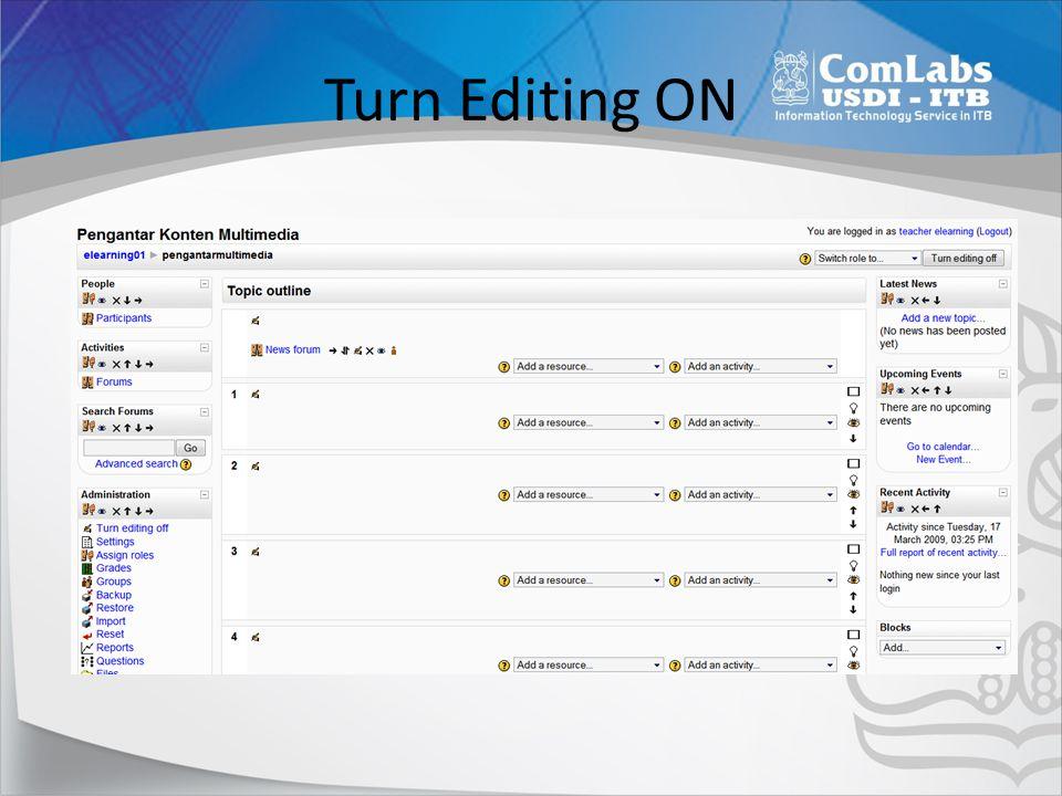 Menampilkan File • Link to file • Display Direktori