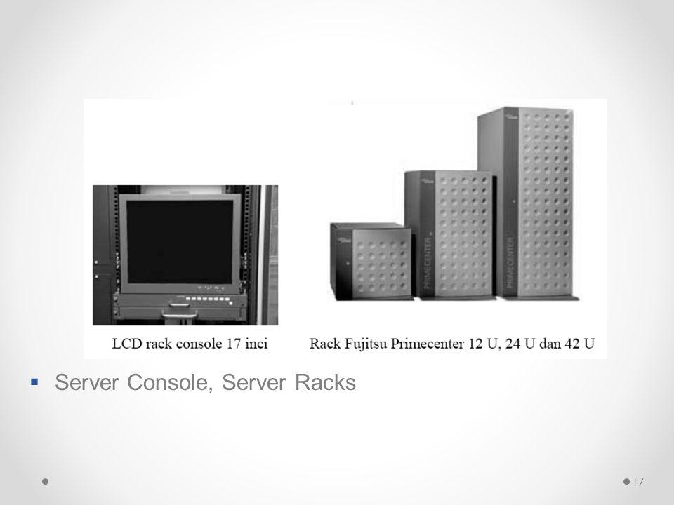 17  Server Console, Server Racks