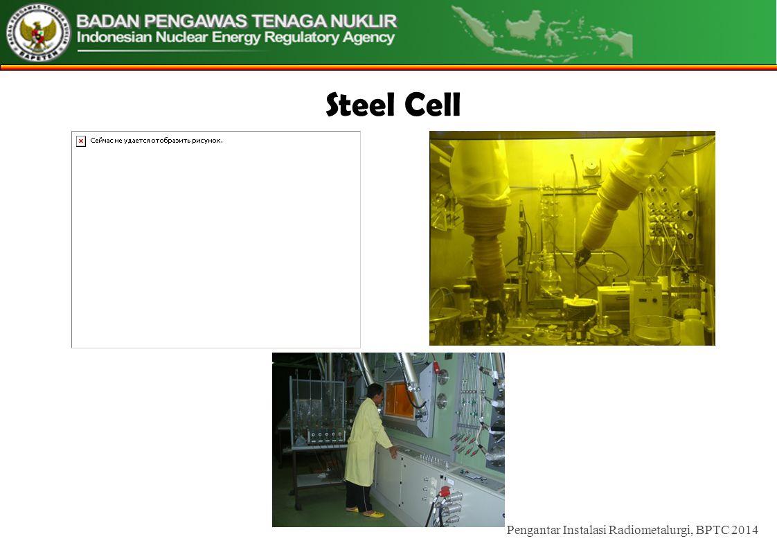 Steel Cell Pengantar Instalasi Radiometalurgi, BPTC 2014