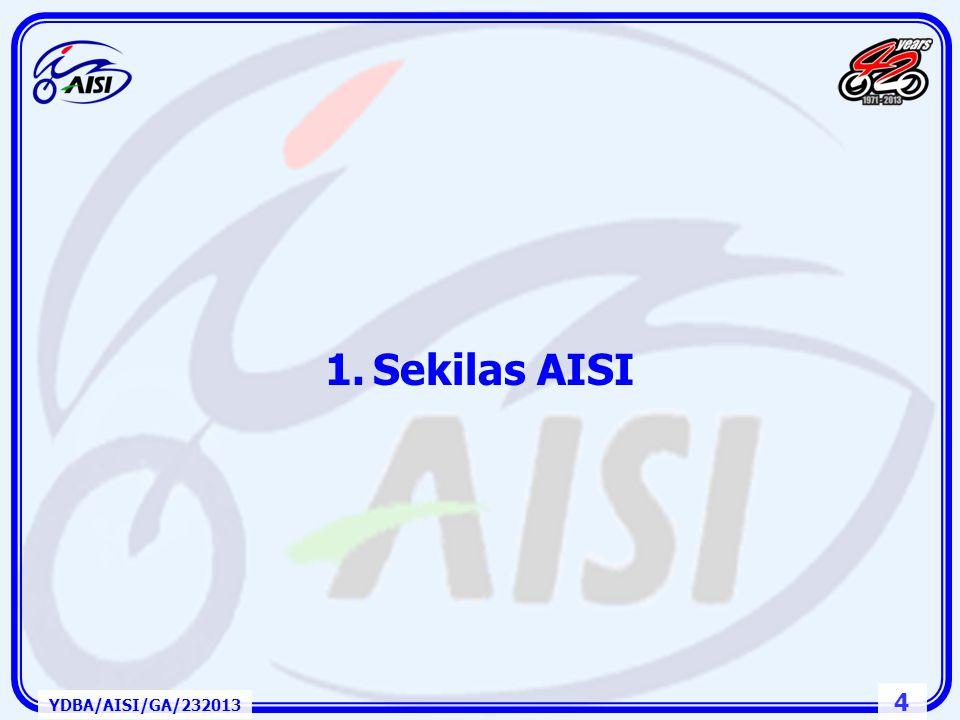 "3 1.Sekilas AISI 2.Industri dan Pasar Kendaraan Bermotor Roda Dua Indonesia dan ASEAN 3.Rantai Pasok, ""Value Chain"" dan Daya Saing 4.Penutup Kerangka"