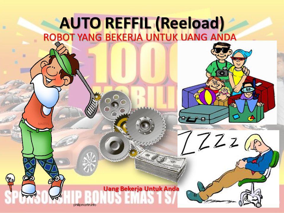 AUTO REFFIL (Reeload) ROBOT YANG BEKERJA UNTUK UANG ANDA Uang Bekerja Untuk Anda