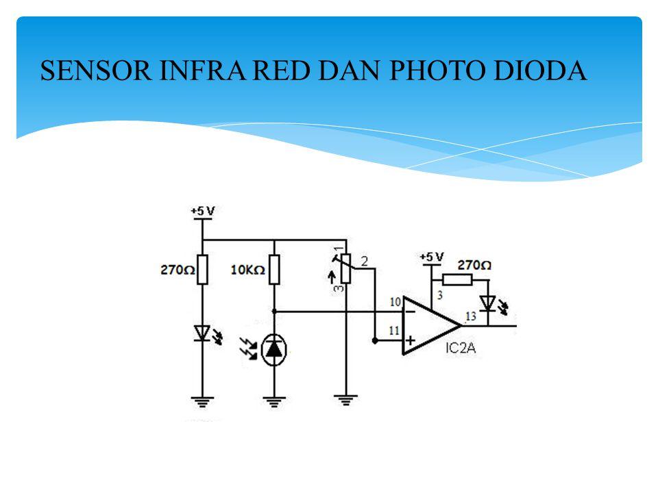 SENSOR INFRA RED DAN PHOTO DIODA
