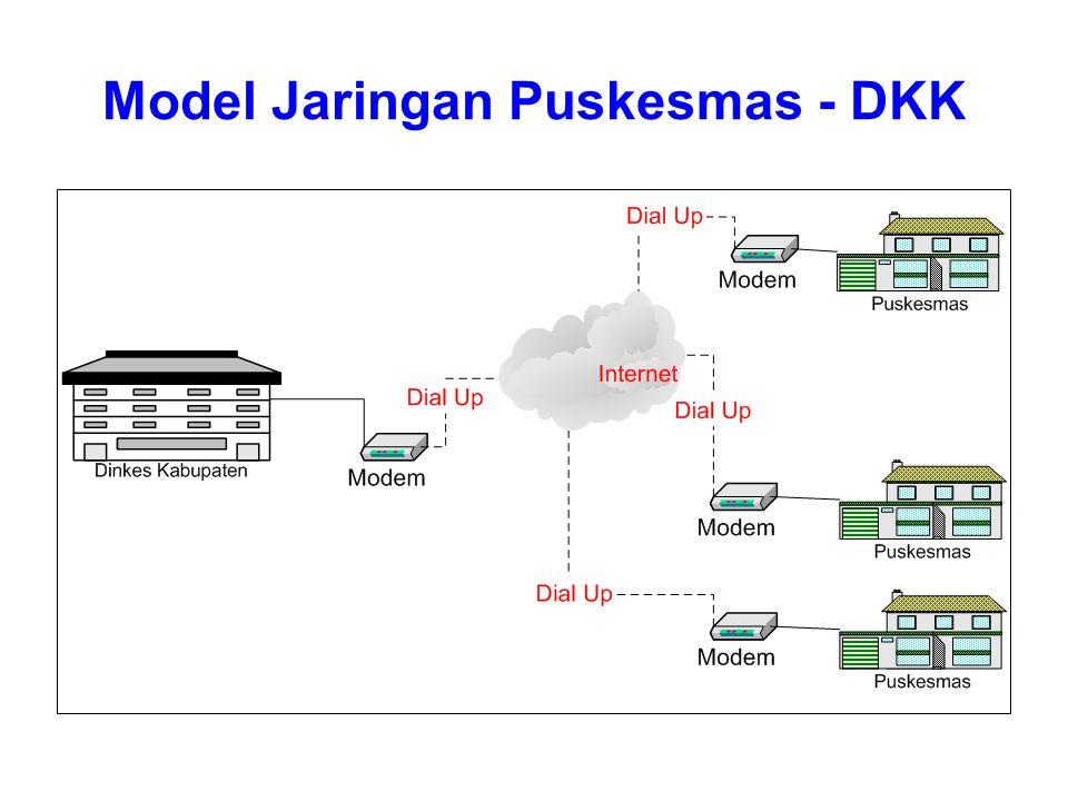 Model Jaringan Puskesmas - DKK