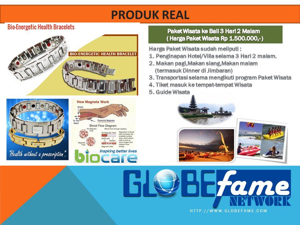 HTTP://WWW.GLOBEFAME.COM PRODUK REAL