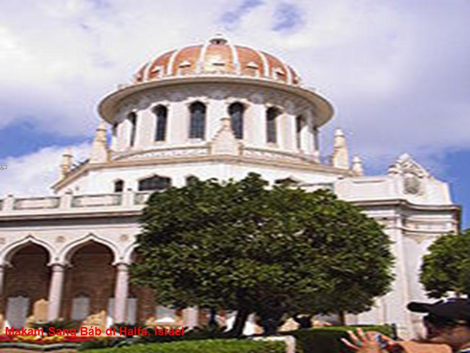 Makam Sang Báb di Haifa, Israel