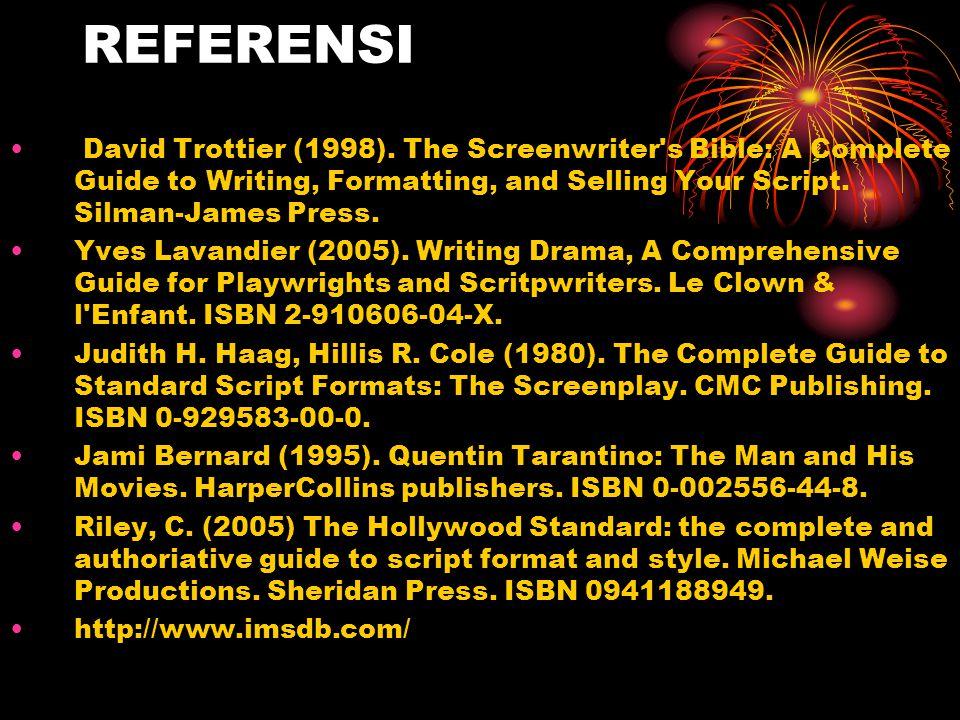 REFERENSI • David Trottier (1998).