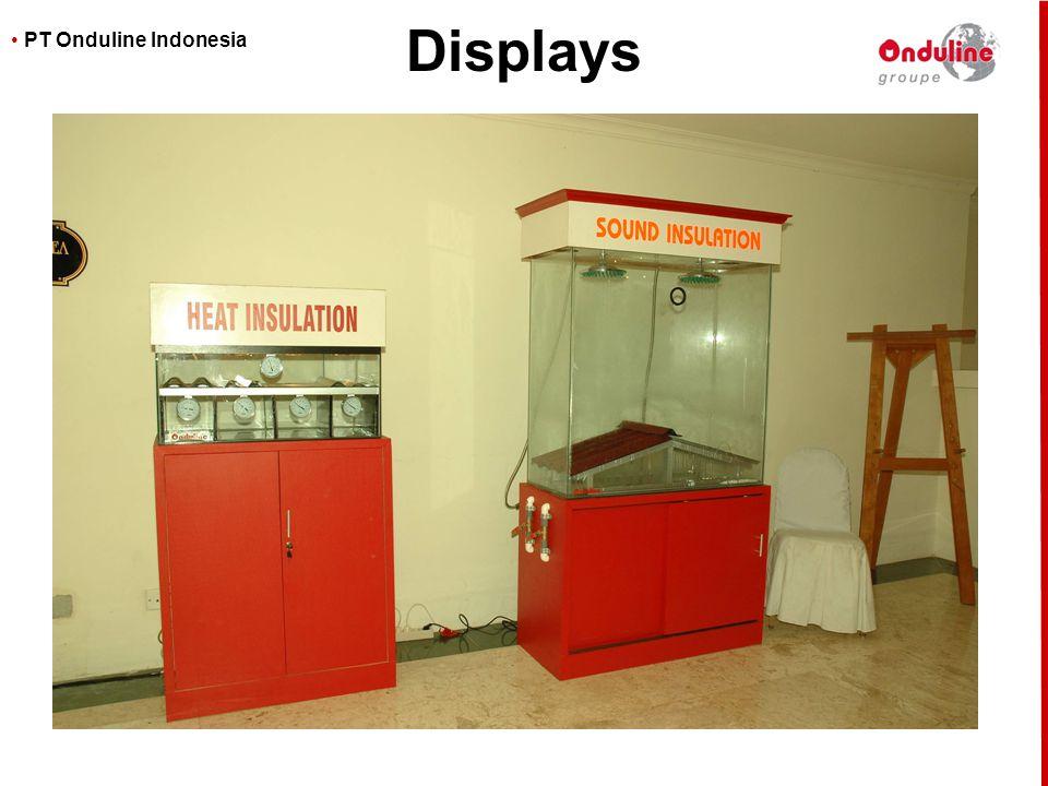 • PT Onduline Indonesia Displays