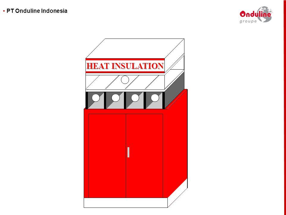 • PT Onduline Indonesia HEAT INSULATION HEAT INSULATION
