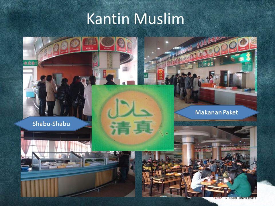 Kantin Muslim Shabu-Shabu Makanan Paket