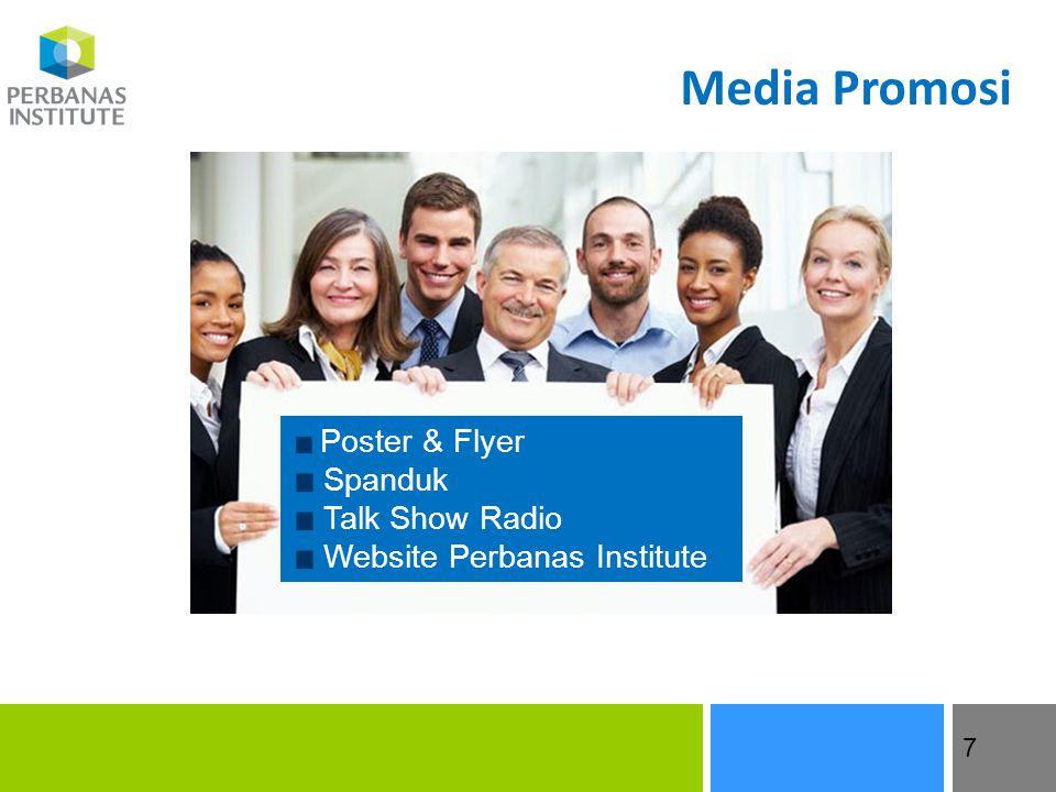 Media Promosi Poster & Flyer Spanduk Talk Show Radio Website Perbanas Institute 7