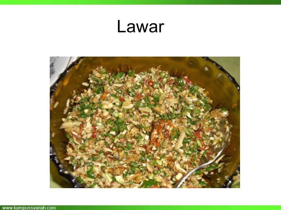 www.kampussyariah.com Lawar