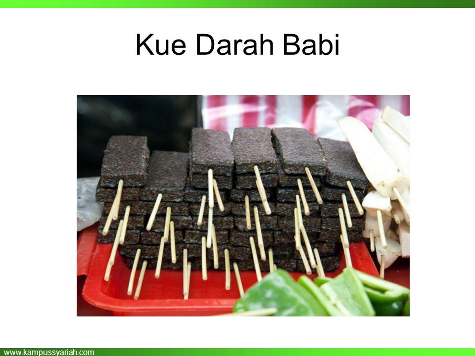 www.kampussyariah.com Kue Darah Babi