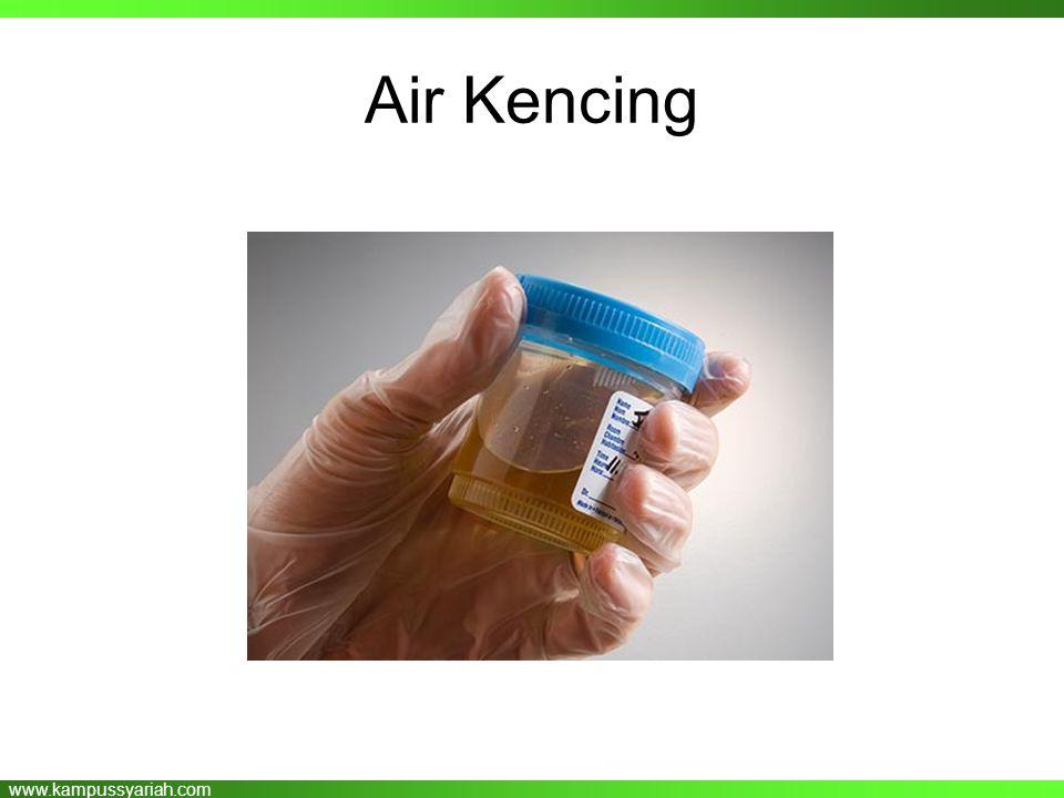www.kampussyariah.com Air Kencing