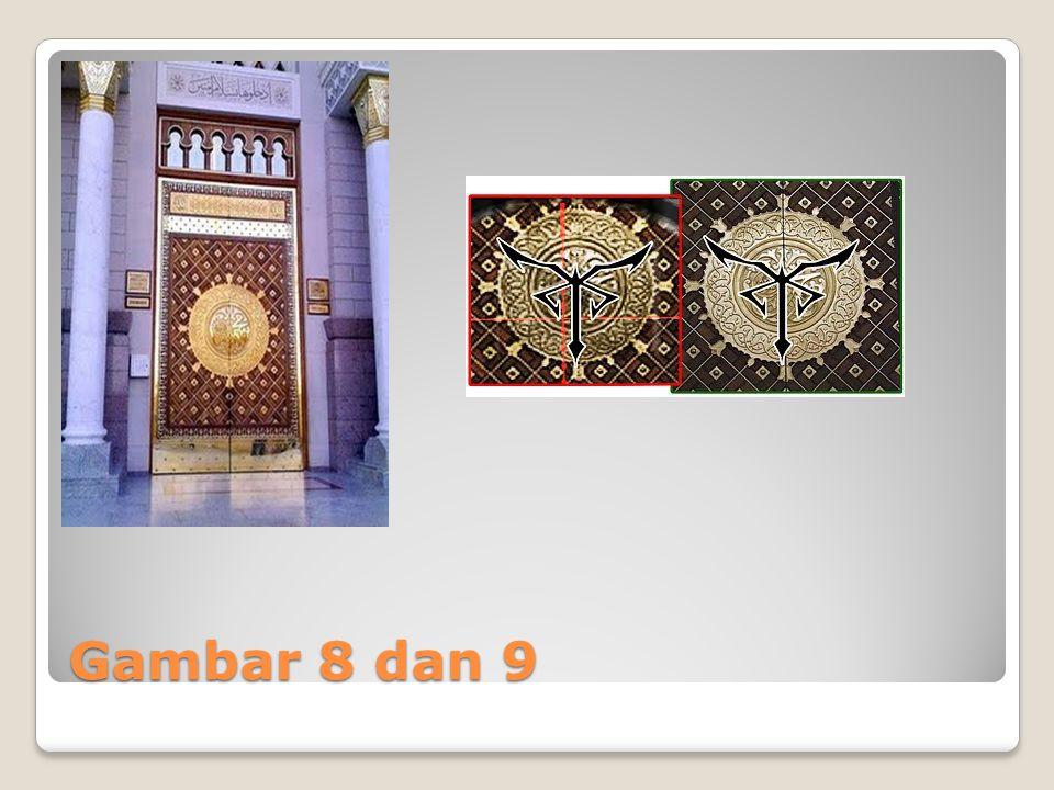 Gambar 8 dan 9