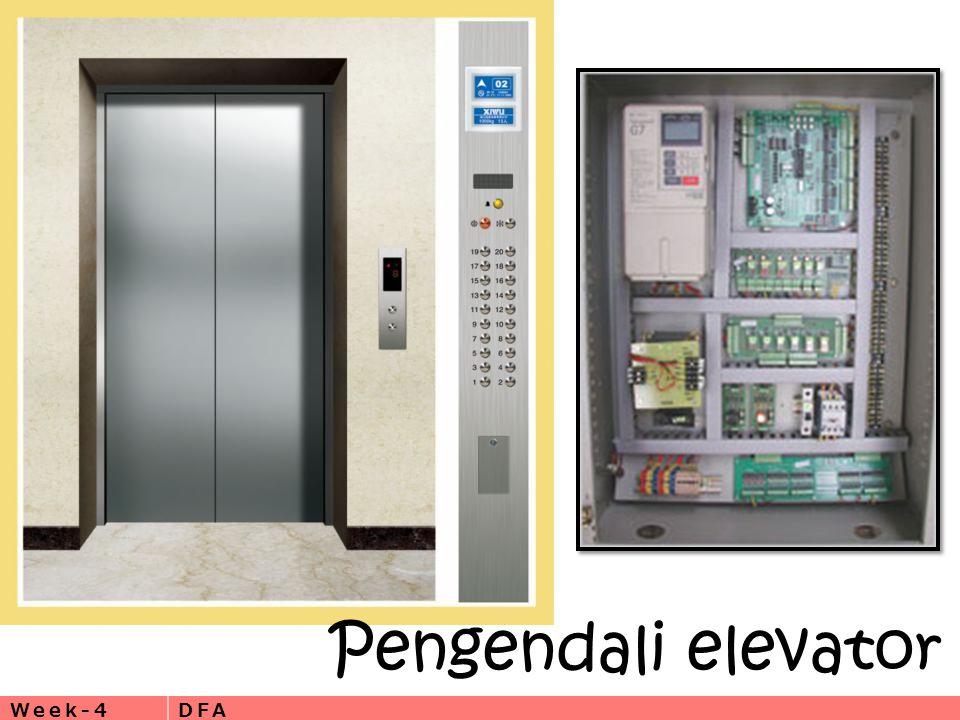 Week-4DFA Pengendali elevator