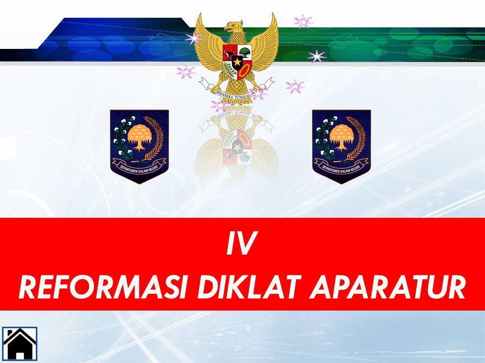 IV REFORMASI DIKLAT APARATUR 49