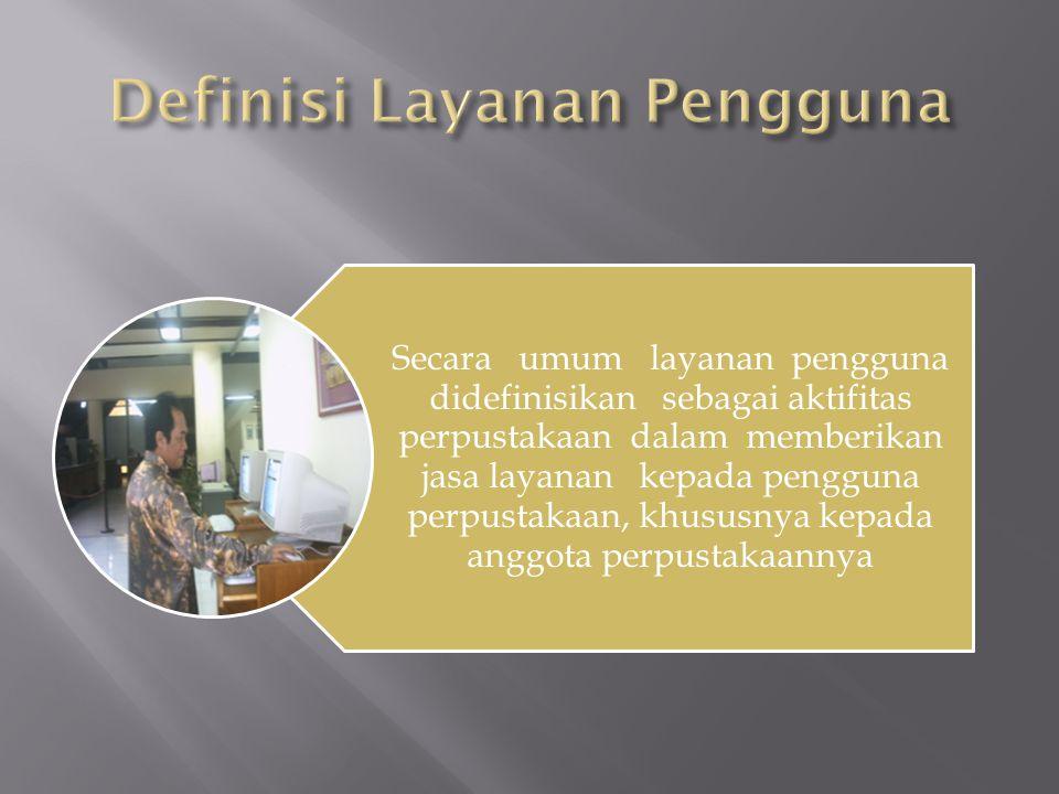  Mirip dengan layanan informasi terbaru layanan ini juga menyebarkan informasi terbaru ke pemakai.