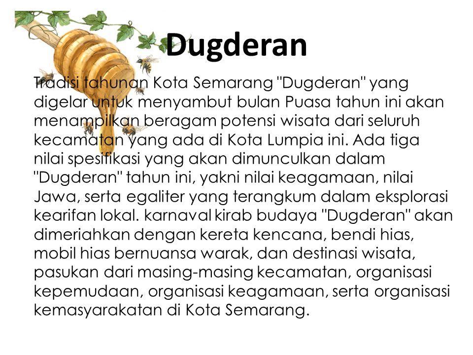 Dugderan Tradisi tahunan Kota Semarang