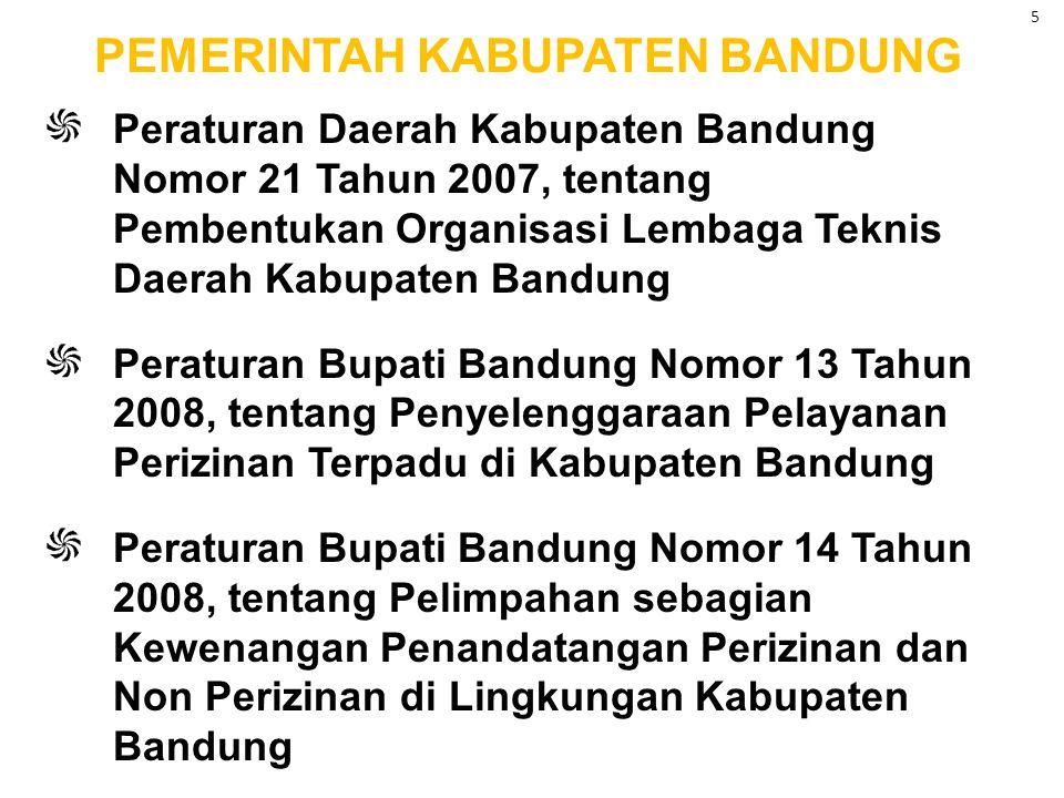 Peraturan Gubernur Jawa Barat No. 6 Tahun 2007 tentang Pedoman Penyelenggaraan Perizinan di Provinsi Jawa Barat Peraturan Gubernur Jawa Barat No. 7 Te