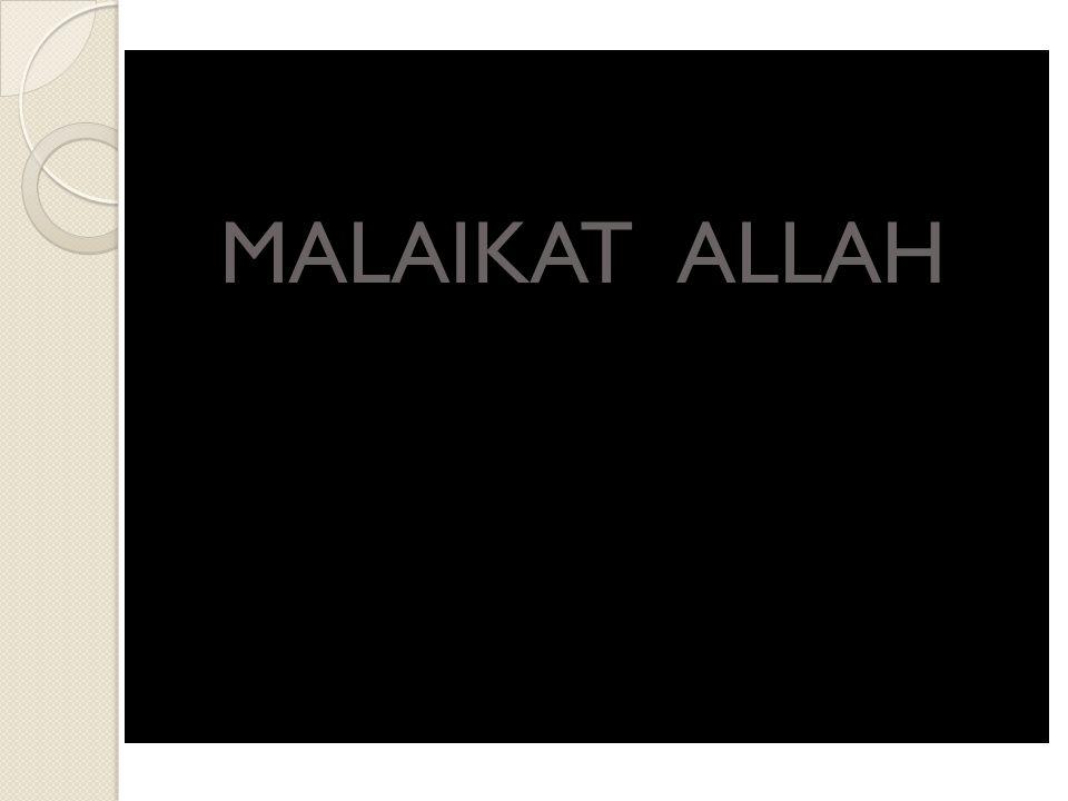 MALAIKAT ALLAH