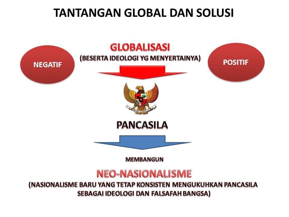 TANTANGAN GLOBAL DAN SOLUSI NEGATIF POSITIF