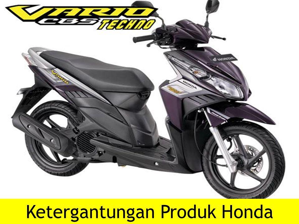 Ketergantungan Produk Honda