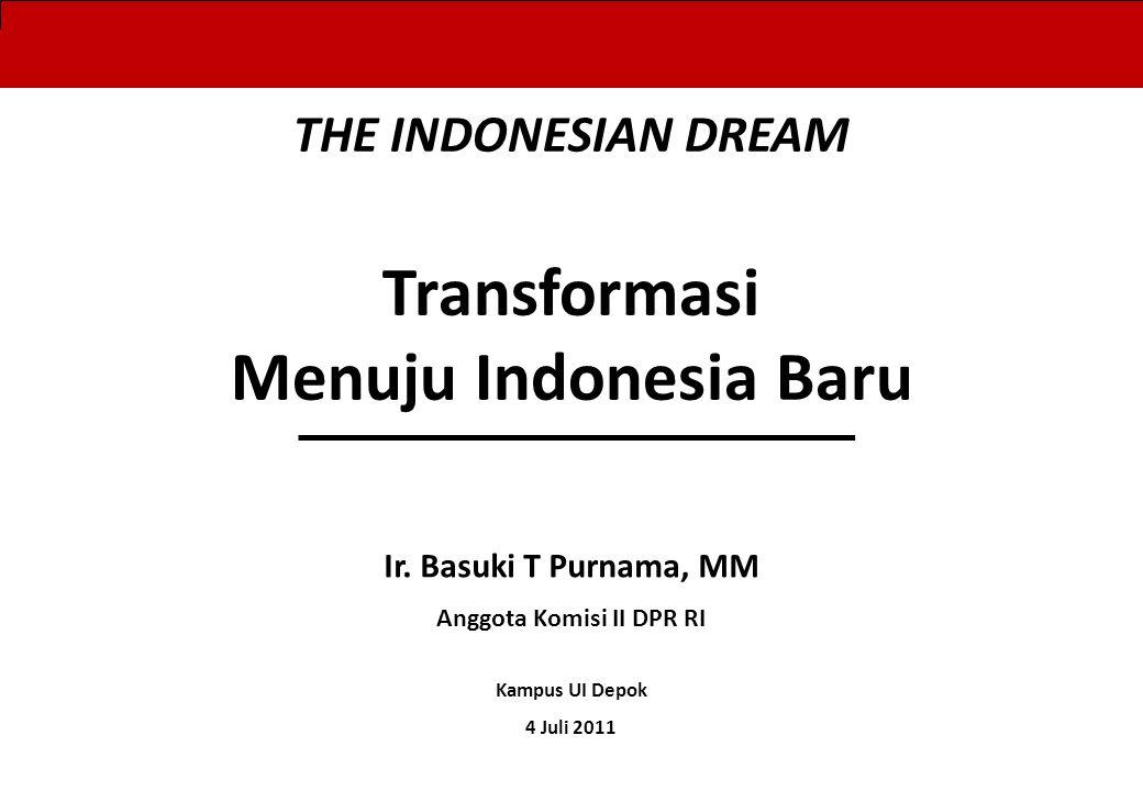 Langkah Awal : Kaum Idealis menjadi Anggota DPRD Kab/Kota sebagai pintu masuk berpolitik demi memperjuangkan Transformasi Indonesia (Pilihan Paling murah dan realistis) 11