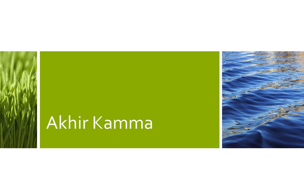 Akhir Kamma