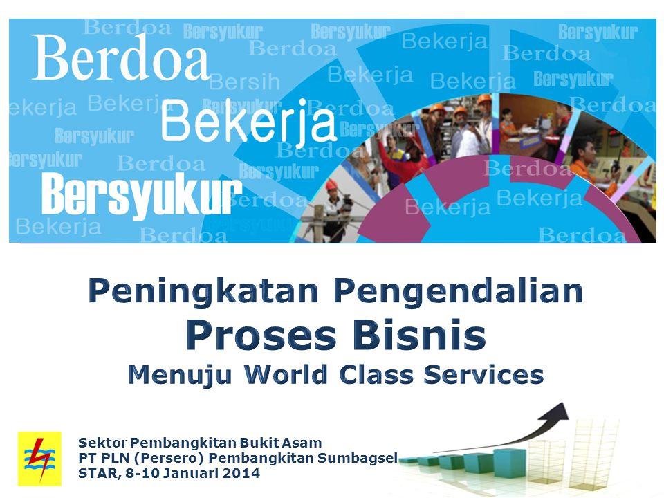 Sektor Pembangkitan Bukit Asam PT PLN (Persero) Pembangkitan Sumbagsel STAR, 8-10 Januari 2014