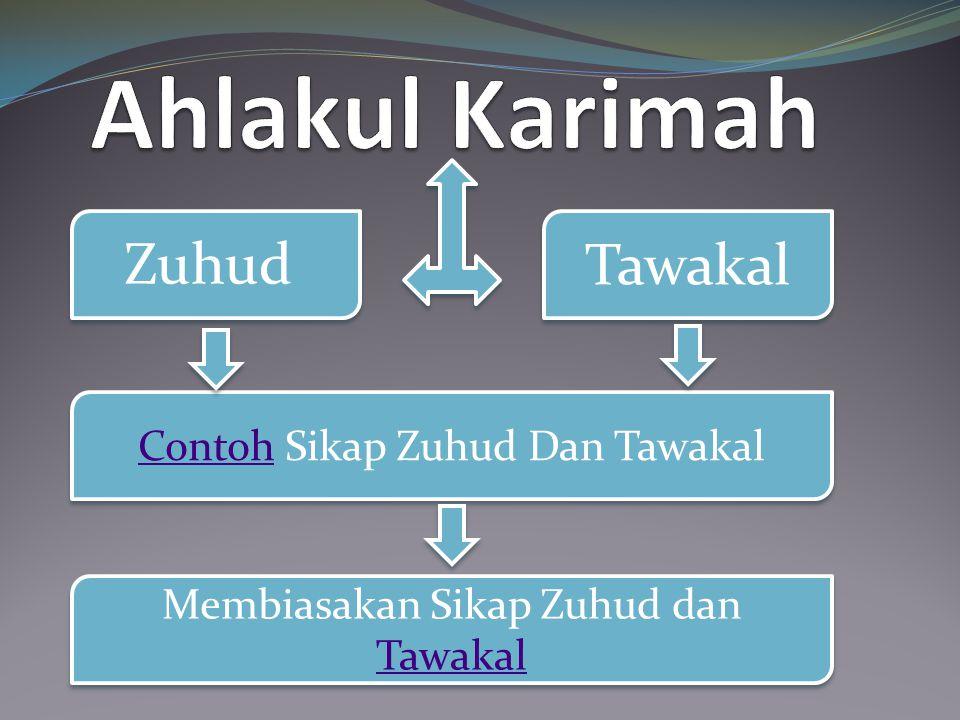 Tawakal Zuhud Contoh Sikap Zuhud Dan Tawakal Contoh Sikap Zuhud Dan Tawakal Membiasakan Sikap Zuhud dan Tawakal Membiasakan Sikap Zuhud dan Tawakal