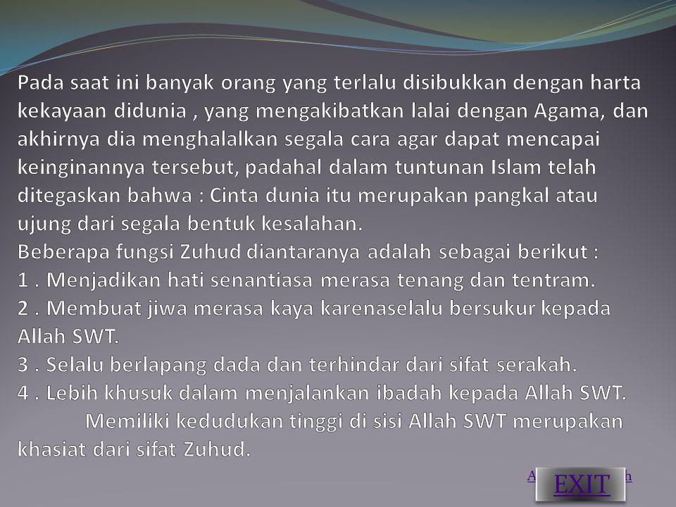 Ahlakul Karimah EXIT