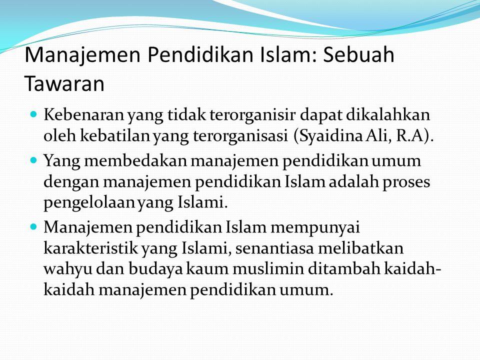 AGENDA  Agenda Pendidikan Islam dalam membangun Kesejahteraan: a) Pengembangan ekonomi pesantren sebagai bagian dari upaya kemandirian ekonomi secara terarah, bertahap, terprogram dan terukur.