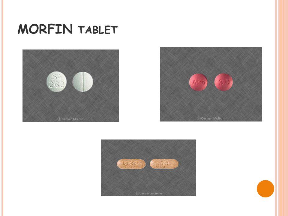 MORFIN TABLET