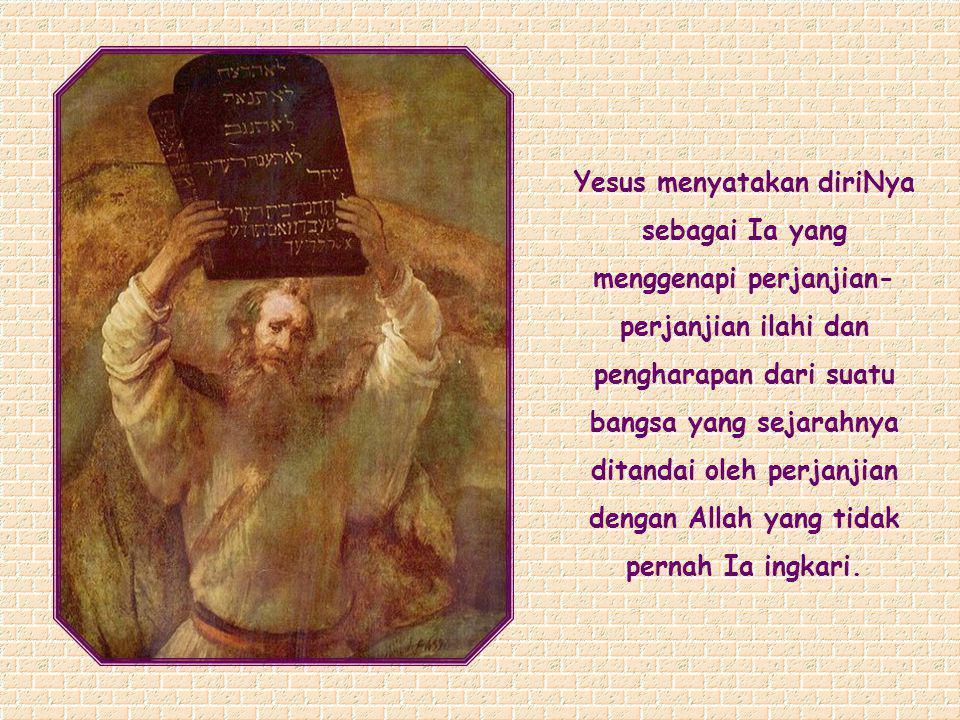 Akulah pintu; barangsiapa masuk melalui Aku, ia akan selamat dan ia akan masuk dan keluar dan menemukan padang rumput (Yoh 10:9).