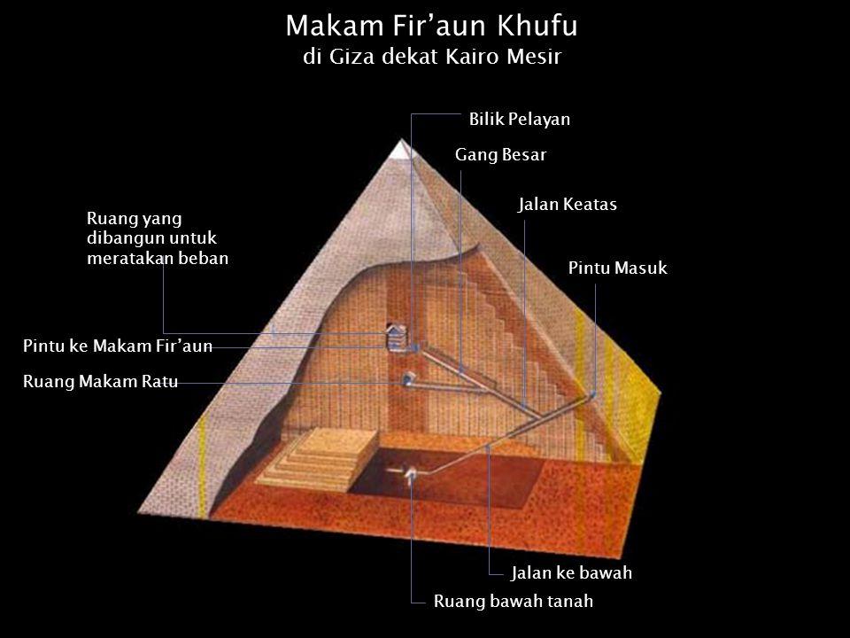 Piramida Cheop jika tingginya dikali 1000 juta, akan menjadi 98 juta mil, yang kira-kira sama dengan jarak bumi ke matahari.