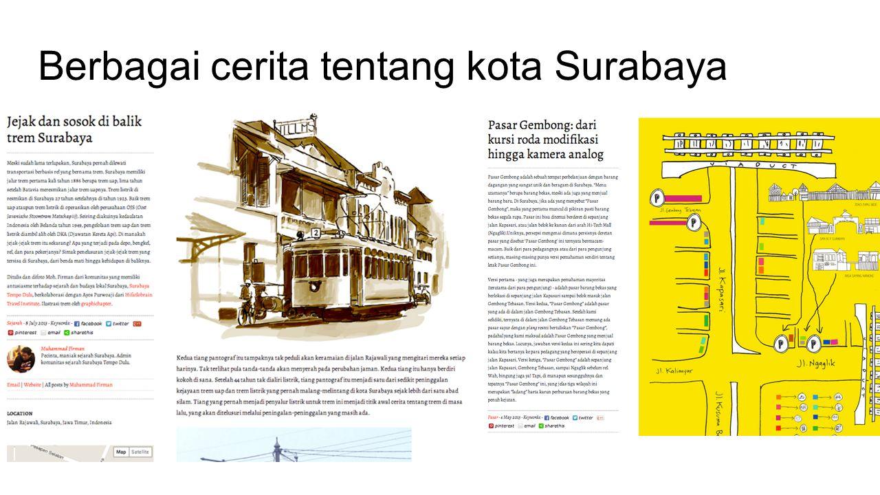 Berbagai cerita tentang kota Surabaya