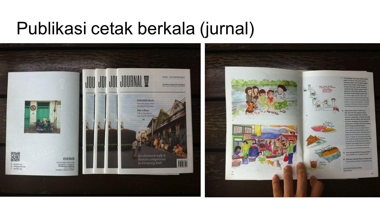 Publikasi cetak berkala (jurnal)