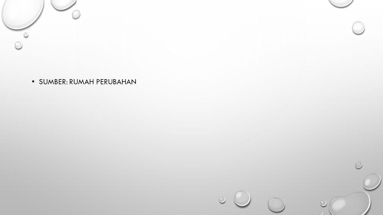 • SUMBER: RUMAH PERUBAHAN