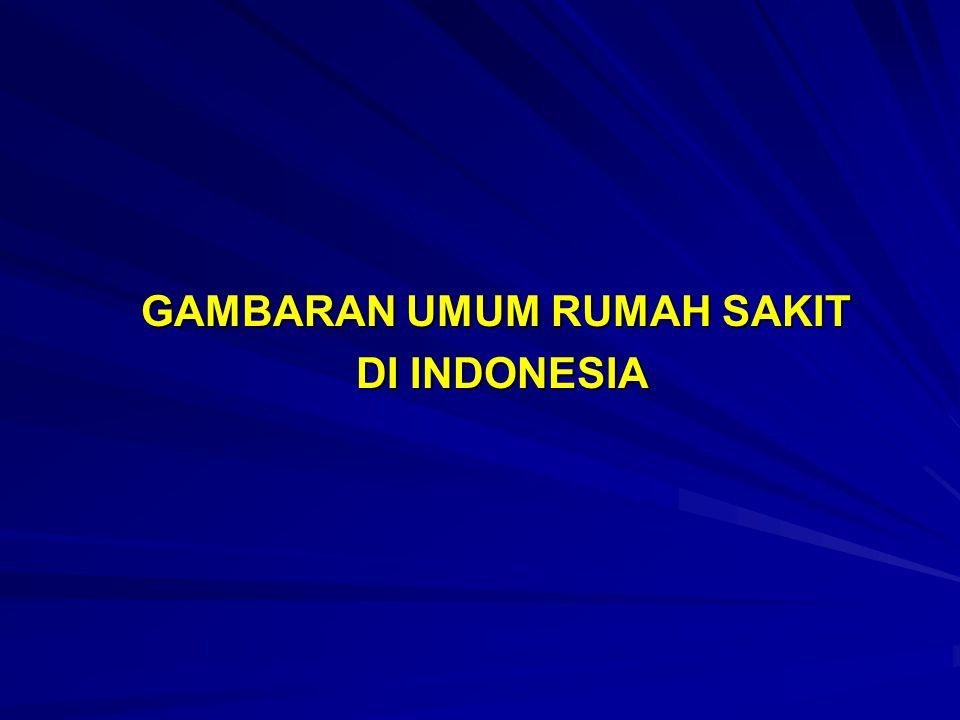 GAMBARAN UMUM RUMAH SAKIT DI INDONESIA DI INDONESIA