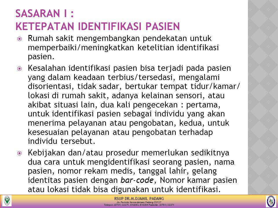 Elemen Penilaian Sasaran I 1.