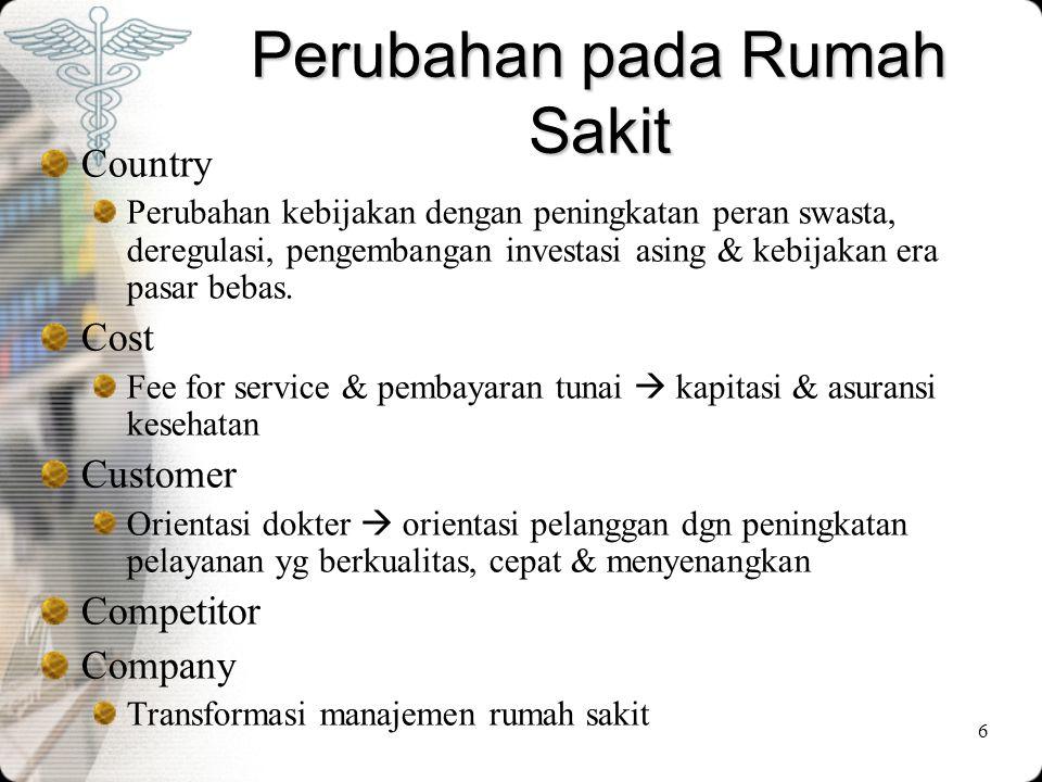 17 Perubahan pada dokter •Secara kuantitatif jumlah dokter di Indonesia sudah mencapai 30.000.