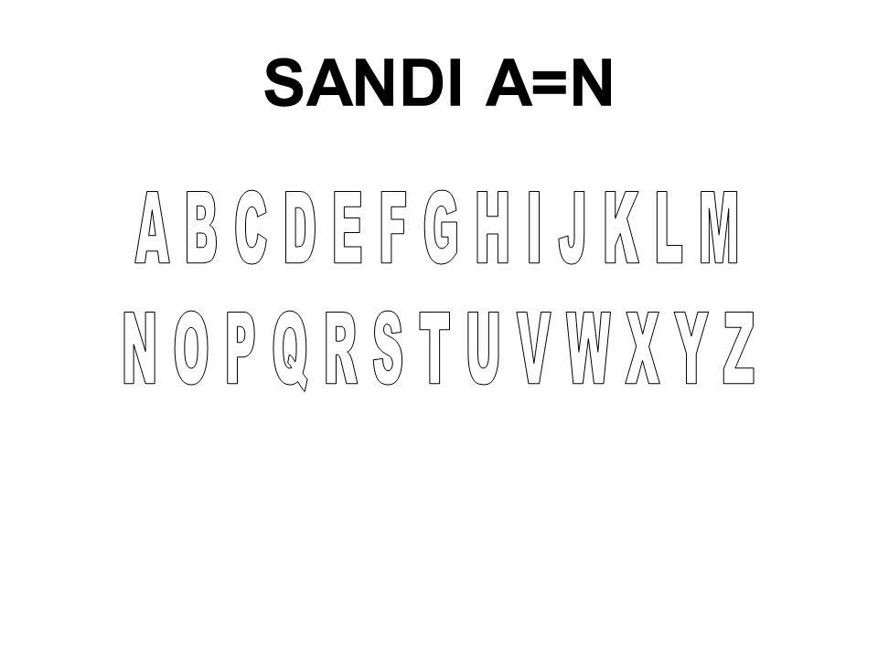 SANDI A=N