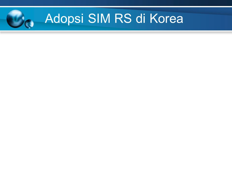 Adopsi SIM RS di Korea