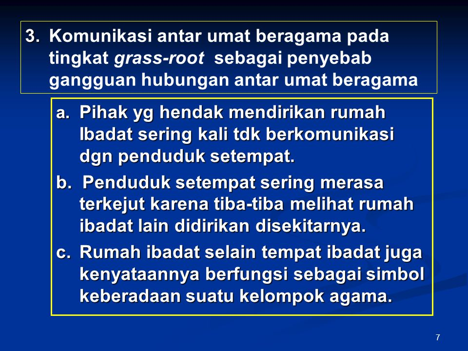 28 Pasal 4 (1)Pemeliharaan kerukunan umat beragama di kabupaten/kota menjadi tugas dan kewajiban bupati/walikota.