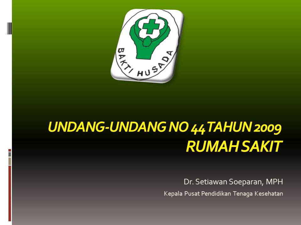 Pendahuluan Pelayanan kesehatan merupakan hak setiap orang yang dijamin dalam Undang-Undang Dasar Negara Republik Indonesia Tahun 1945 yang harus diwujudkan dengan upaya peningkatan derajat kesehatan masyarakat yang setinggi-tingginya