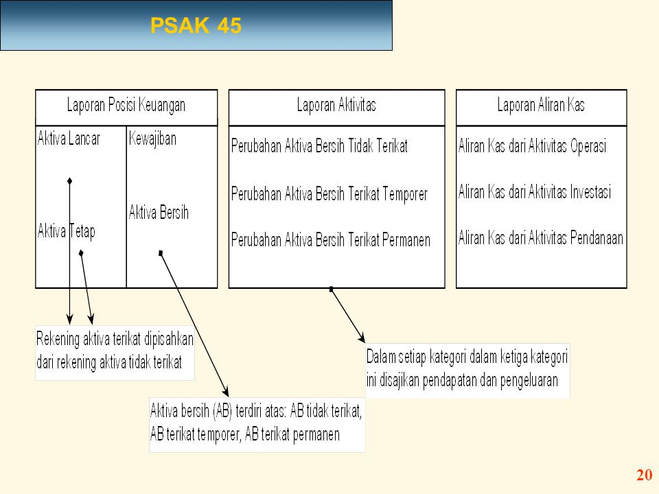 PSAK 45 20